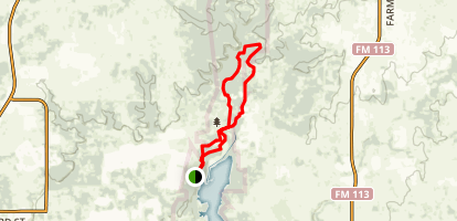 Lake Mineral Wells Trail Map