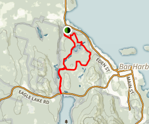 Witch Hole Pond Carriage Trail Map
