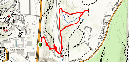 Florida Canyon Trail Map