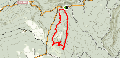 Seven Hollows Trail Map