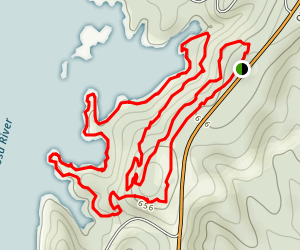 Cherokee Ridge Alpine Trail Map