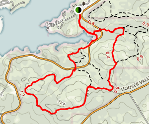 Inks Lake State Park Trail Map