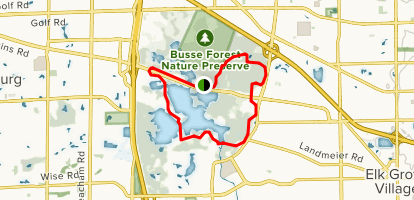 Busse Woods Map Busse Woods Loop Trail   Illinois | AllTrails