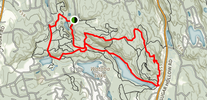 Hemlock Hills & Pine Mountain Trail Map