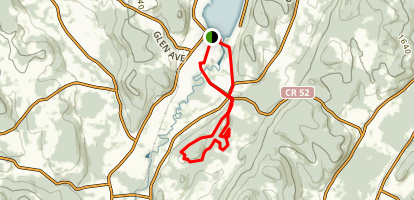 Clark Tower Trail Map