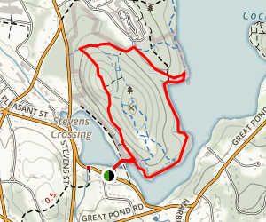 Weir Hill Reservation Trail Map