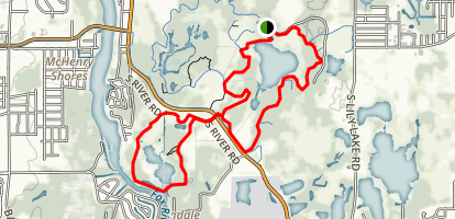 Moraine Hills State Park Trail Map