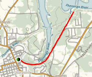 Trout Island Trail Map