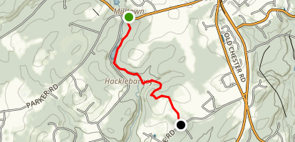 Cooper Mill Trail Map
