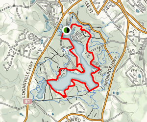 Fort Yargo Lake Loop Trail Map