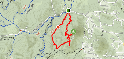 Thumb Butte Trail 33 Map