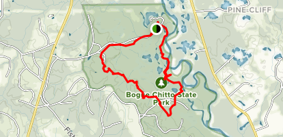 Bogue Chitto State Park Gorge Run Trail Map