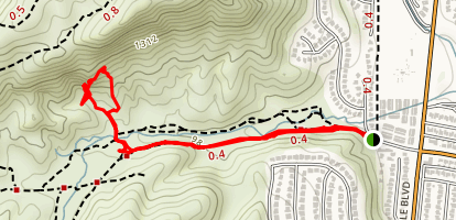 El Escorpion Canyon Park Map
