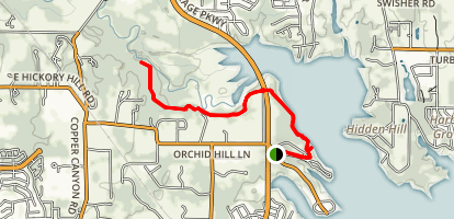 Pilot Knoll Trail Map