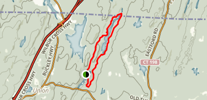 Breakneck Pond Loop Trail Map
