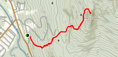 Pine Cobble Trail Map