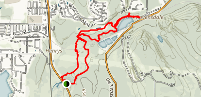Black Diamond Coal Mine Trail Map