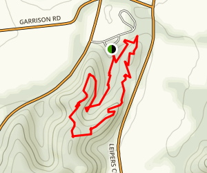 Old Trace Garrison Creek Loop Trail Map