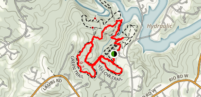 Ivy Creek Natural Area Trails Map