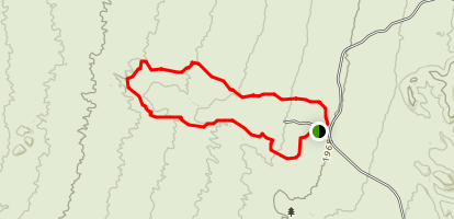 Wagner-Granite-Bluff Trails Map