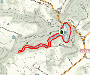 Pioneer Short Loop / Pioneer Trail Map