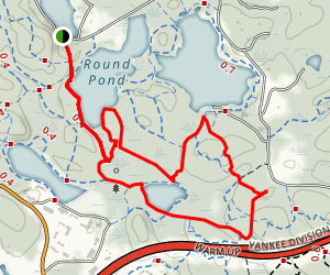 Chebacco Woods Trail Map