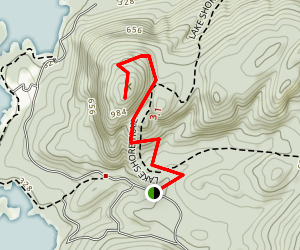 Shelving Rock Mountain Trail Map