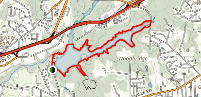 Salem Lake Trail Map