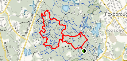 F. Gilbert Hills State Forest Loop Trail Map