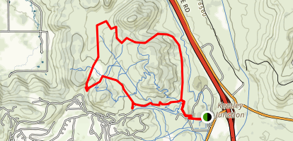 Round Valley Rail Trail Map