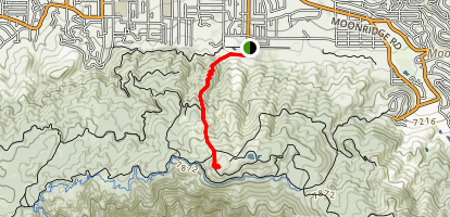 Snow Summit Trail Map