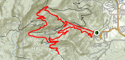 The Canyons Ski Resort Trail Map