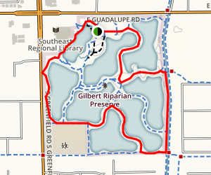 Water Ranch Trail Map