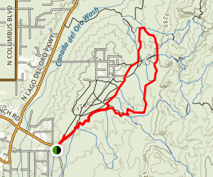 50 Year Trail Map