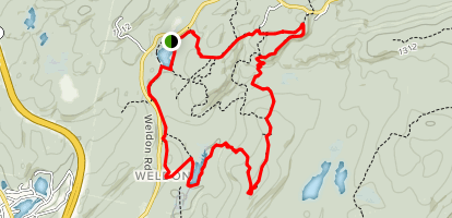 Highlands Trail Loop Trail Map