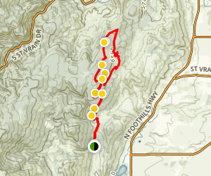Heil Valley Ranch Trail Map