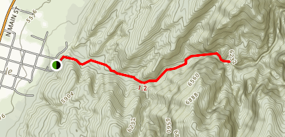 Kanarra Creek Canyon Trail Map