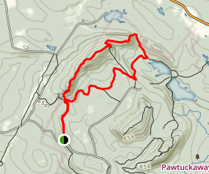 North Mountain Loop Trail Map