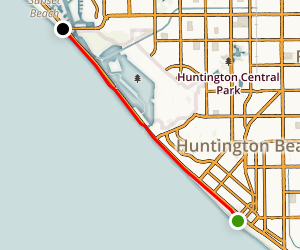 Huntington Beach Trail Map