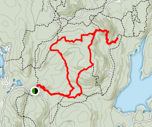 Southern End Norvin Green State Forest Map