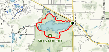 Cleary Lake Trail Map