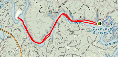 Occoquan Water Trail Map