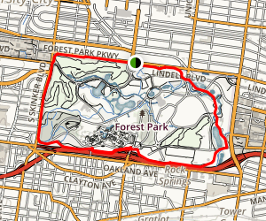 Forest Park Trail Map