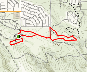 Orcutt Hill Trails Map