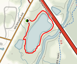 Lake Carina Trail Map