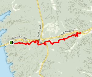 Central Hardwoods Trail Map