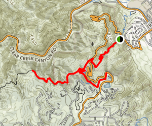 Lookout Mountain Trail Map