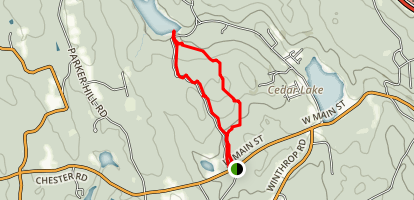 Cockaponset State Forest Road Loop Trail Map