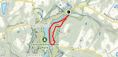 Lackawanna State Park Campground Map