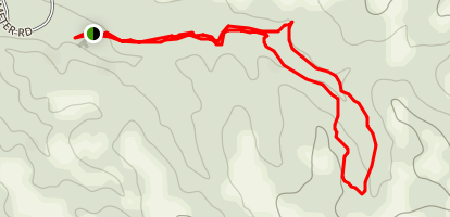 Buffalo and Antelope Springs Trail Map